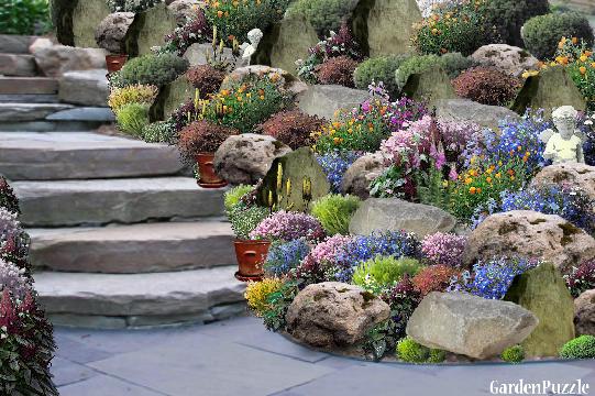 Gardenpuzzle Project Rockery