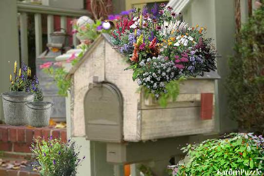 Gardenpuzzle Project Mailbox Planter
