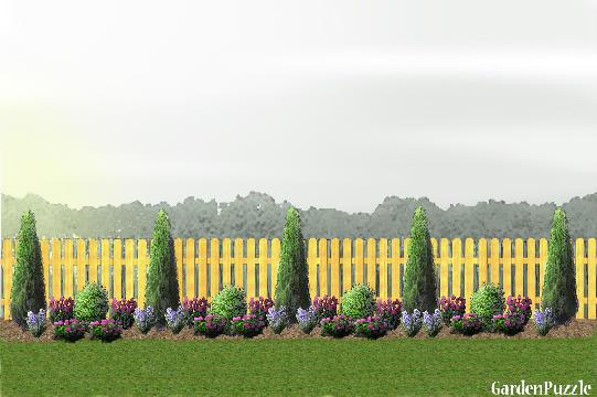 GardenPuzzle - project Fence Line