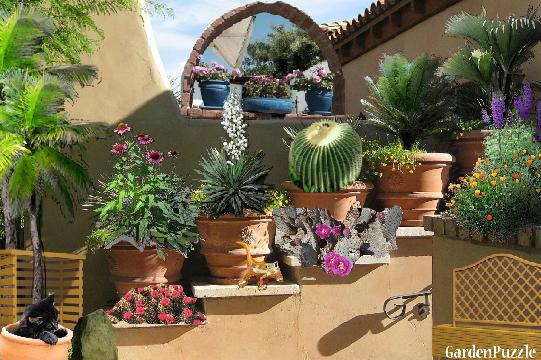 Gardenpuzzle - Project Desert Home Garden