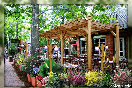 Gardenpuzzle - Project Outdoor Cafe