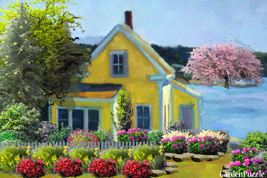 gardenpuzzle project little house by the sea. Black Bedroom Furniture Sets. Home Design Ideas