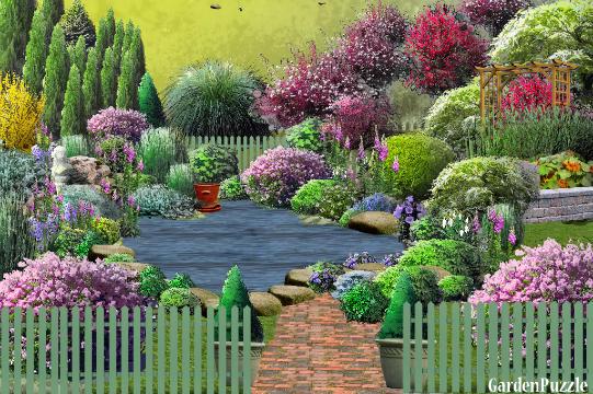 Gardenpuzzle project jardin l 39 anglaise for Jardin 0 l4anglaise