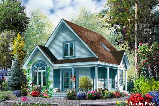 little blue house - Blue House Design