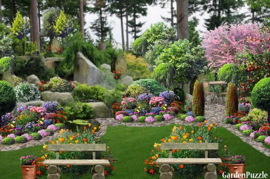 Gardenpuzzle - Project Old Stone Garden