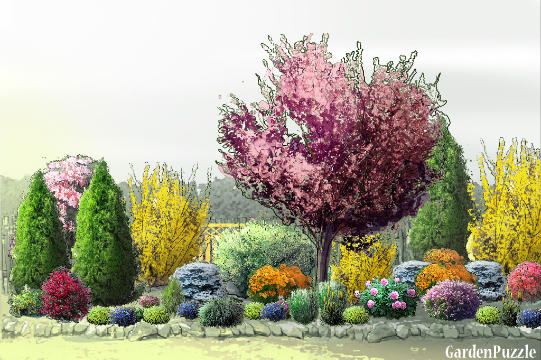 Gardenpuzzle Project Ornamental Cherry Garden