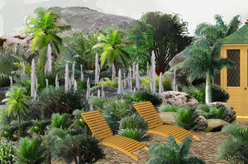 Gardenpuzzle project forest springwaters for Garden pavilion crossword clue