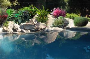 Gardenpuzzle project tire planters for Garden pool crossword