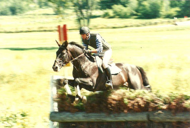 Denny Emerson and Epic win going steeplechase at Bromont, via Denny's Facebook