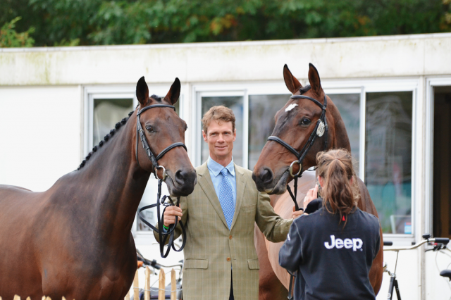 William Fox-Pitt — The one to beat this weekend?