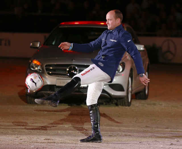 Michael Jung could probably win the World Cup singlehandedly, too.  Photo by Julia Rau.
