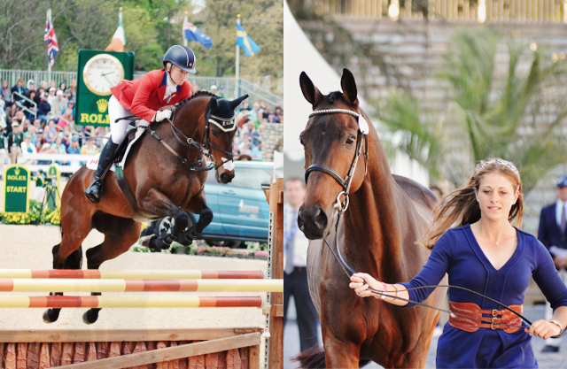 EN readers voted Hawley Bennett-Awad, left, the 2013 Rider of the Year and Donner, right, the 2013 Horse of the Year. Both photos by Jenni Autry.