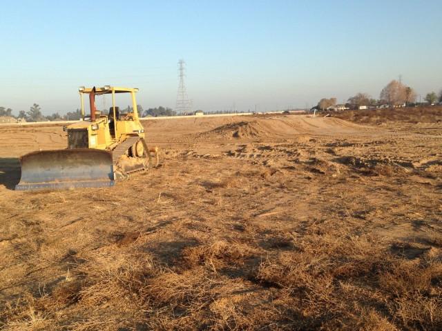 Construction on new facilities at Fresno County Horse Park. Photo courtesy of John Marshall.