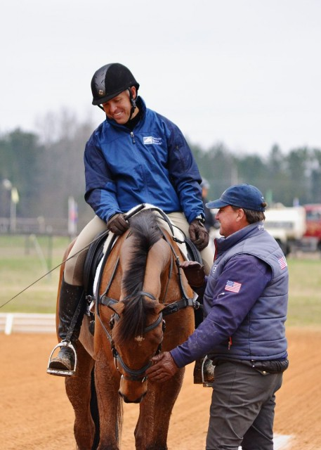 David O'Connor now passes along his knowledge as the Chef d'Equipe of the U.S. team. Photo by Jenni Autry.