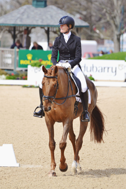 Sinead Halpin and Manoir de Carneville. Photo by Jenni Autry.