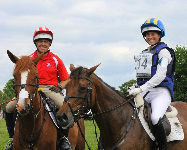 Thanks to Helene for this great photo of Buck and Andrea at Flora Lea Horse Trials in NJ last weekend.