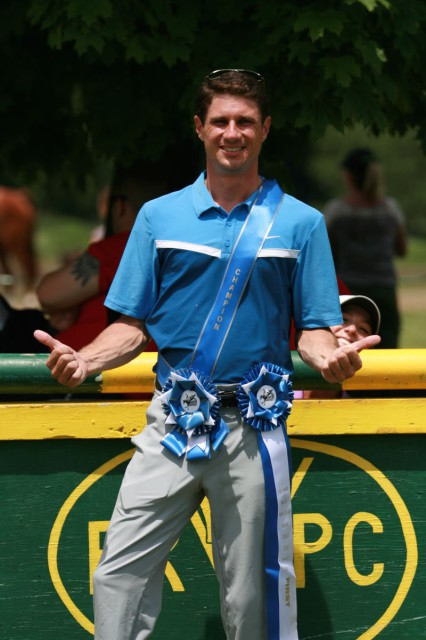 Nate Chambers and his CCI* bling