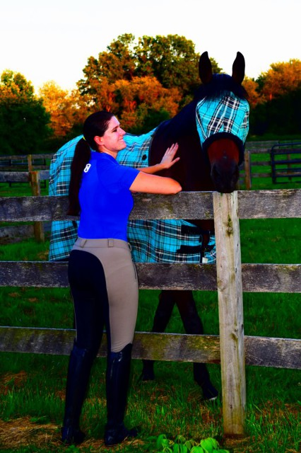 I wear FITS All Season Duets breeches to work hard and play hard--and they get the job done for me with style - Photo by Lorraine Peachey