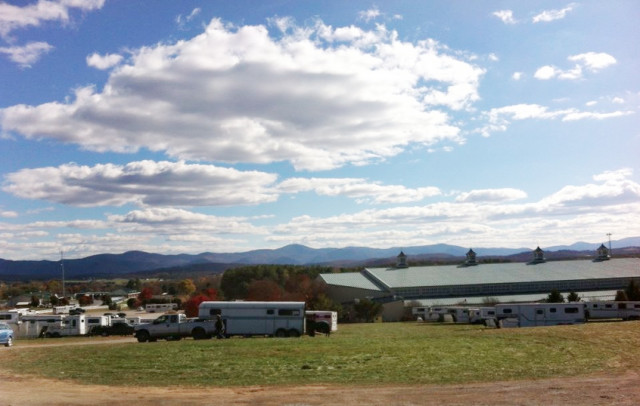 The beautiful Virginia Horse Center. Photo by Riley Wagner.