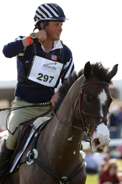 Boyd Martin and Trading Aces win the first PBIEC Eventing Showcase.  Photo by Kasey Mueller.