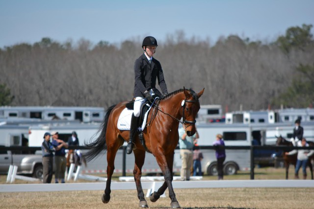 Michael Willman and Fernhill Cayenne. Photo courtesy of the Willham family.