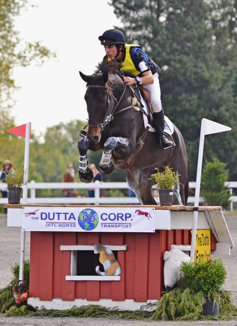Dom Schramm and Cold Harbor. Photo by Jenni Autry.
