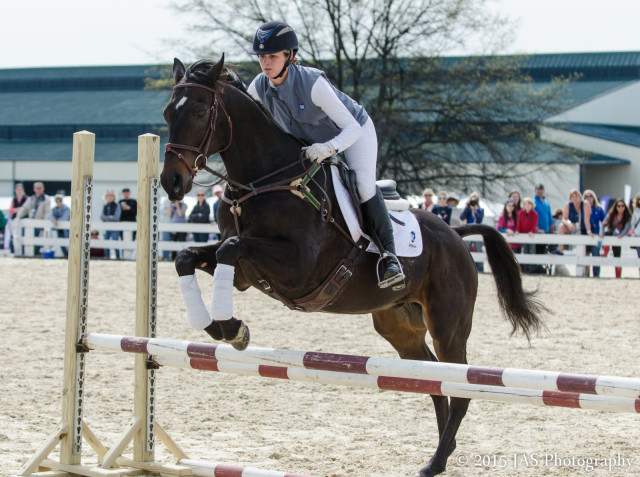 Hillary Irwin and Nutello. Photo by JAS Photography.