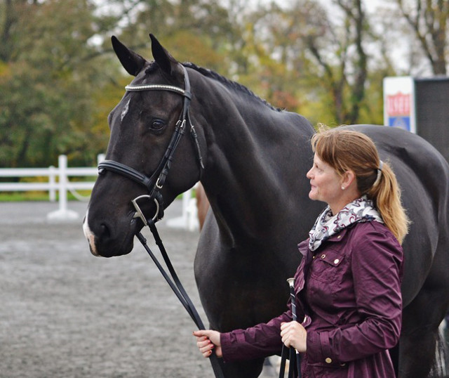 Kim Severson and Cooley Cross Border at Fair Hill. Photo by Jenni Autry