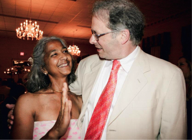 Seema and Henry at our wedding in New Orleans, May 2010.