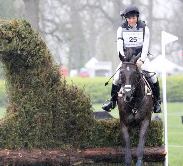 Elisa Wallace and Simply Priceless at Rolex.  Photo by Kasey Mueller/Rare Air Photography.