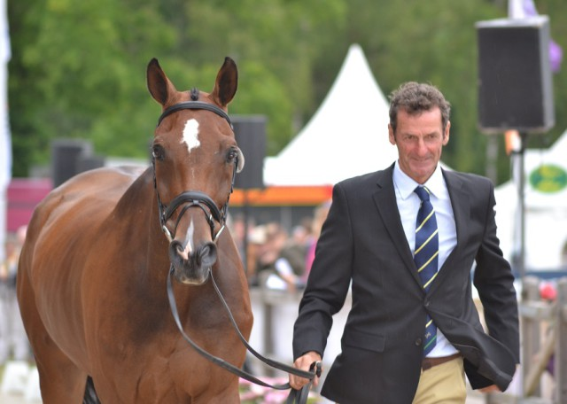 Mark Todd and NZB Campino (NZL). Photo by Leslie Wylie.