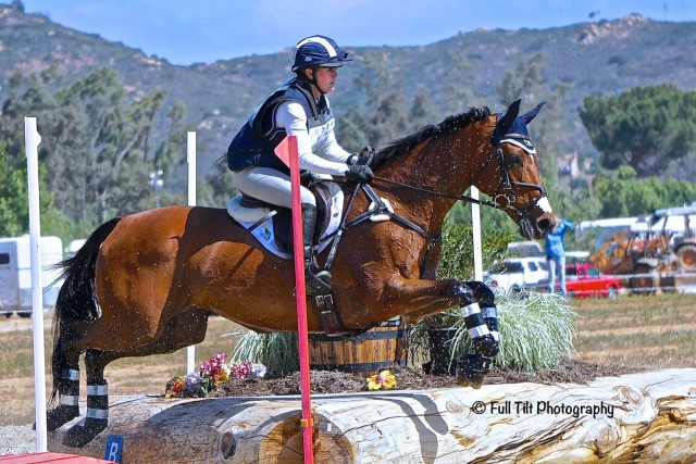 Sarah Braun and Perfect Intentions during their Advanced debut. Photo courtesy of Full Tilt Photography.