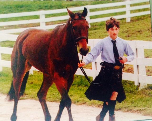 Waylon Roberts and Sandra Andresen's Illusion in 2001. Photo courtesy of Kelly Plitz.
