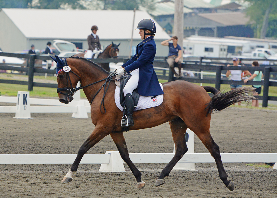 Justine Dutton and Jollybo. Photo by Jenni Autry.