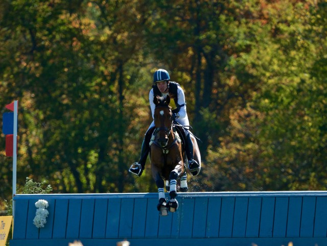 Matt Flynn and Get Lucky round out the CCI2* top 5, in 5th place