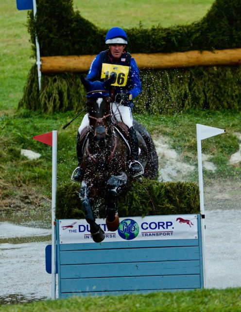 Phillip Dutton and Mighty Nice are in 2nd place after XC
