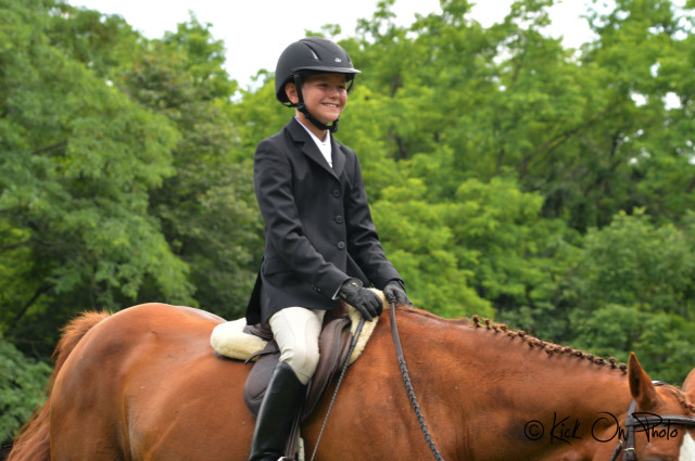 Ben Noonan and Covergirl Angel at Queeny Park Horse Trials. Photo by Kick On Photo.