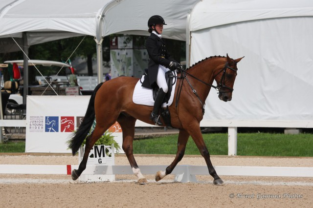 Makenna Rold and Fernhill Imperial. Photo by Brant Gamma.