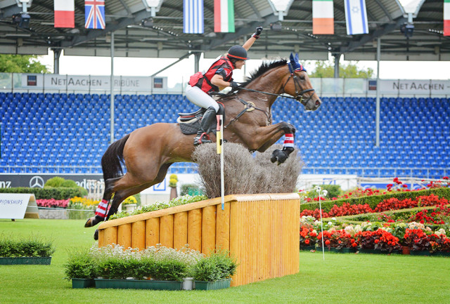 Holly Jacks-Smither and More Inspiration at Aachen. Photo by Jenni Autry.