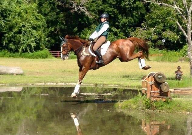"""Contrary to what """"Bad Eventer"""" would have you believe, she is in fact a lovely rider. Photo courtesy of Laura Szeremi."""