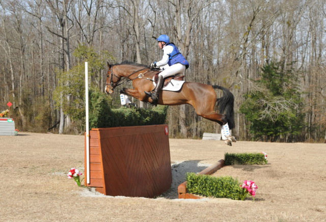 Will Faudree and Caeleste at Pine Top Intermediate 2015. Photo by Hoofclix.com.