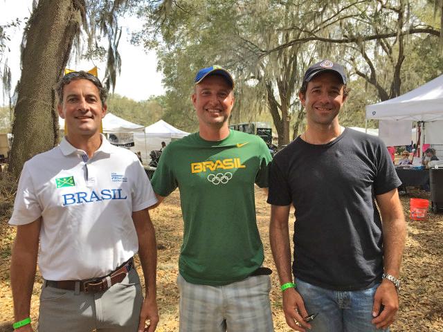 Marcelo Tosi, Henrique Pinheiro and Marcio Calvalho Jorge: Brazil in Florida. Photo by Samantha Clark.