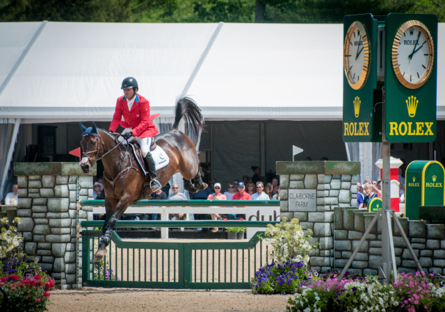 Phillip Dutton and Fernhill Cubalawn. Photo by Leslie Threlkeld.
