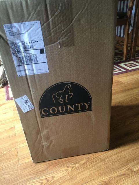 County Saddlery demo saddle
