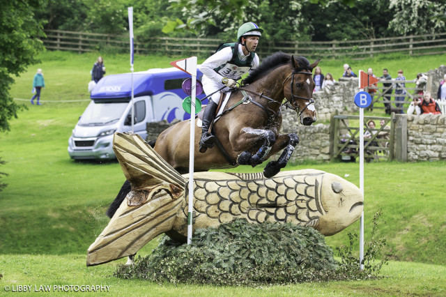 Clark Montgomery and Loughan Glen claim second at Bramham International Horse Trials in the Event Rider Masters Division. Photo by Libby Law Photography.