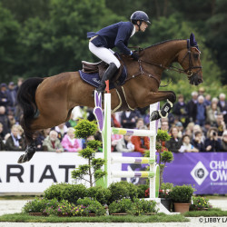 Maxime Livio in the  Luhmuhlen CCI4*. Photo by Libby Law Photography.