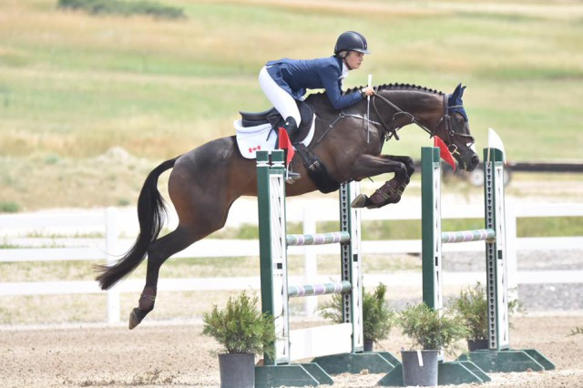 Shelby Brost and Crimson. Photo by JJ Sillman.