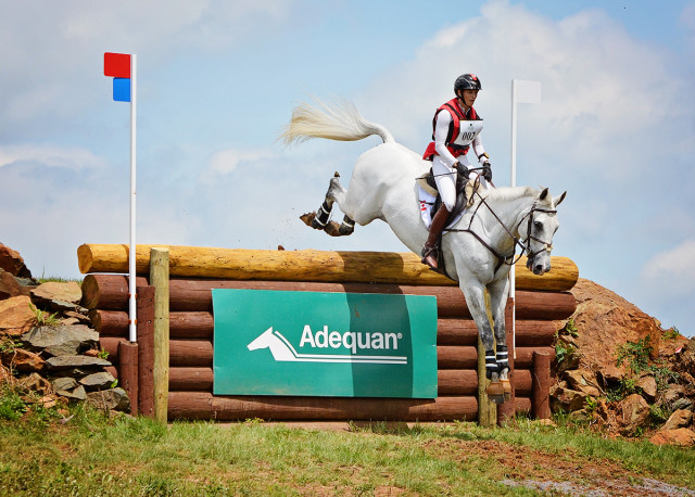 Colleen Loach and Quorry Blue d'Argouges. Photo by Jenni Autry.
