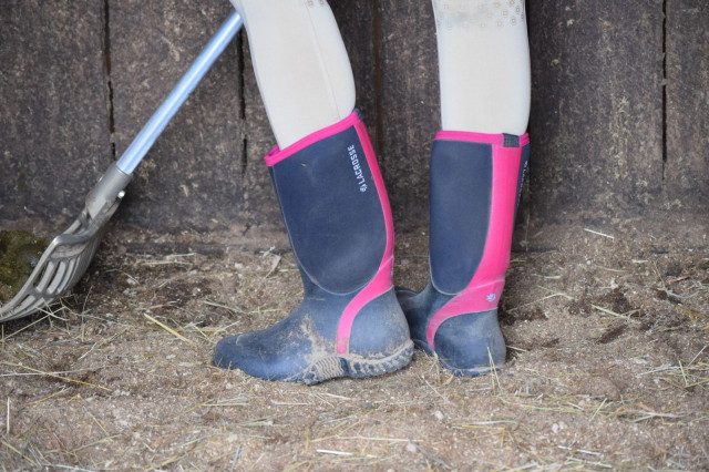 The Alpha Lite boots feature an Active Fit, which means they are designed to pull on and off easily, while keeping feet securely in place while on the move. Photo by Lorraine Peachey