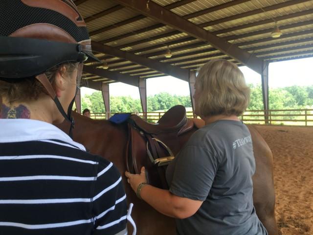 MSA Saddle Fitter Ann Mary Bettenson